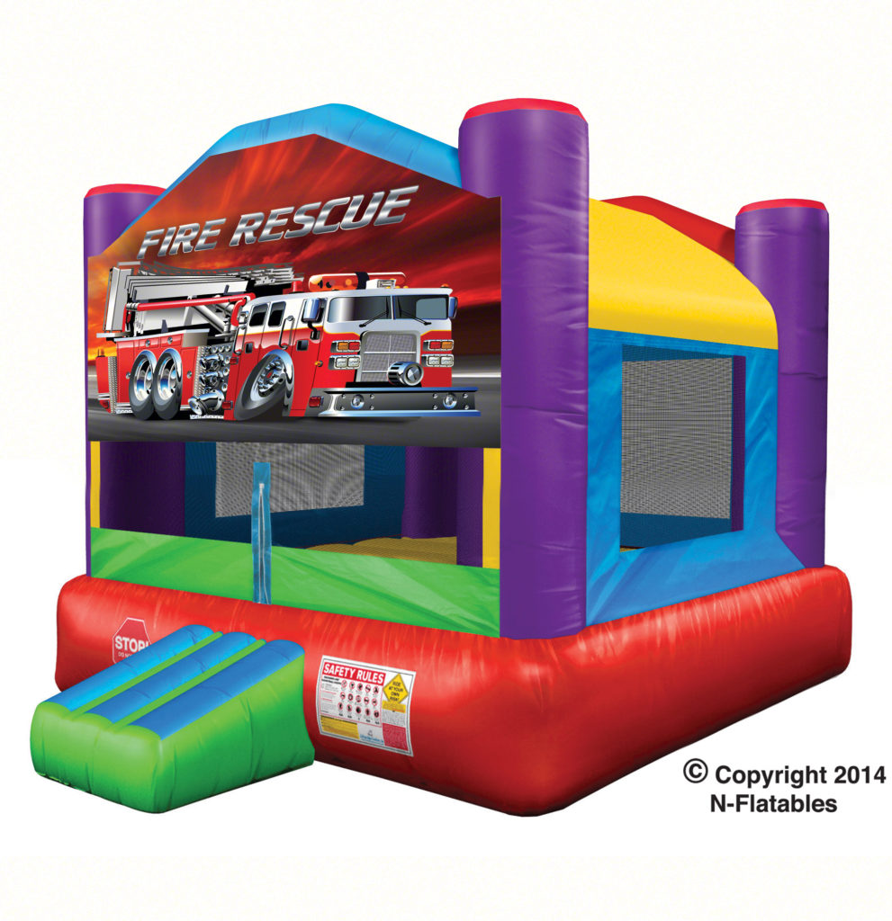 Wacky Theme Fire Rescue