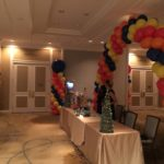 Spiral Balloon Arch and Columns