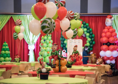 Candy Balloons and Centerpieces