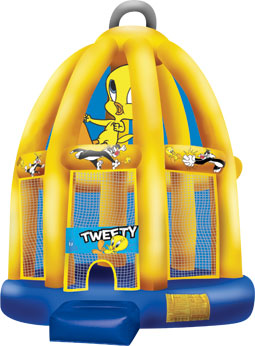 Tweety Cage Moon Bounce