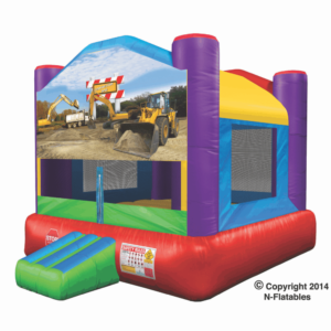 Theme Bounce Construction Zone