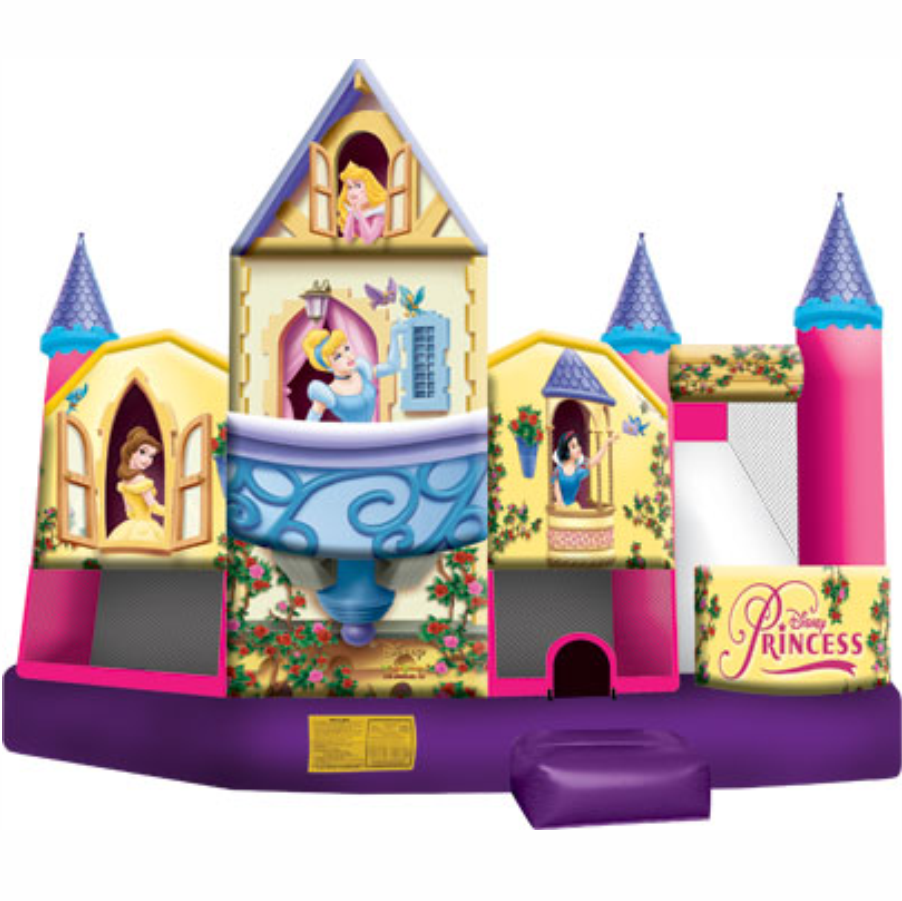 Disney Princess 3D Combo Bounce